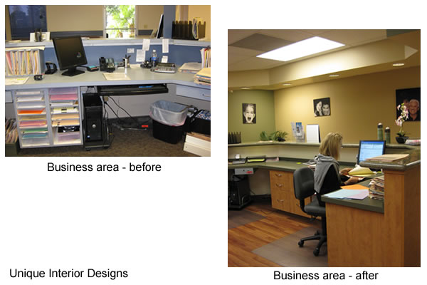 Business Area - Before and After