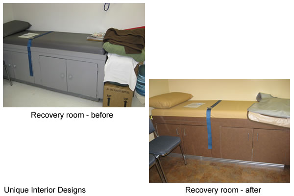 Recovery Room - Before and After