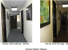 Hallway - Before and After