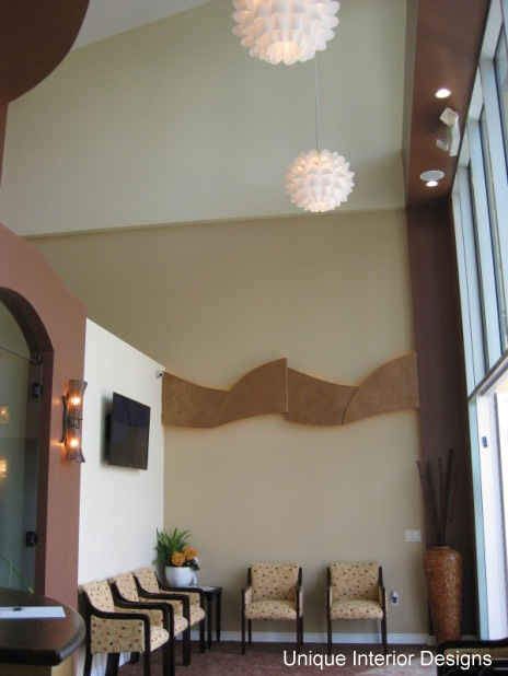 Dental Office Design - Floating Ceiling