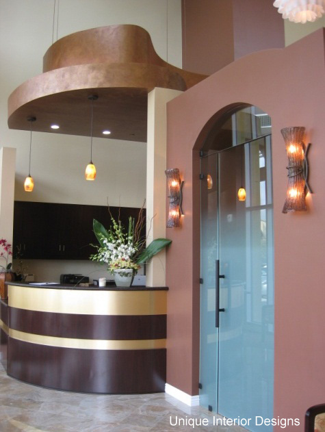 Dental Office Design - Glass Door Entrance