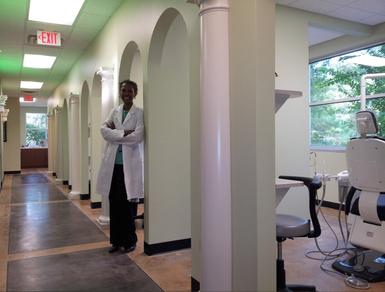Hallway And Dental Treatment Rooms, Dr. Gerry Will Give You The Smile Have Dreamed About! Jacksonville Office Interior Design H