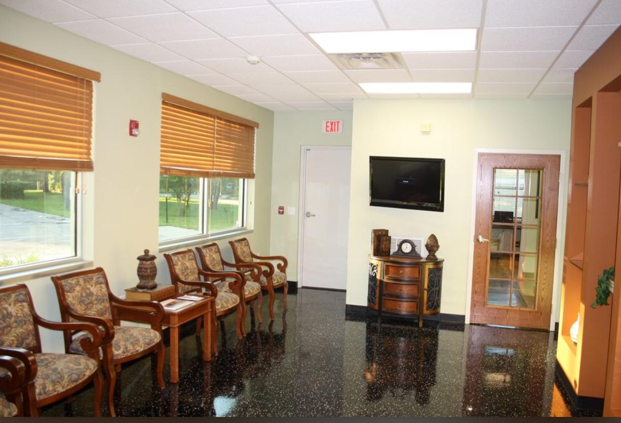 Jacksonville Dental Office - Waiting Room