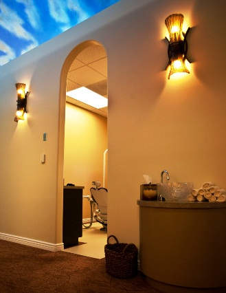 Dental Office Design - Arched Doorway