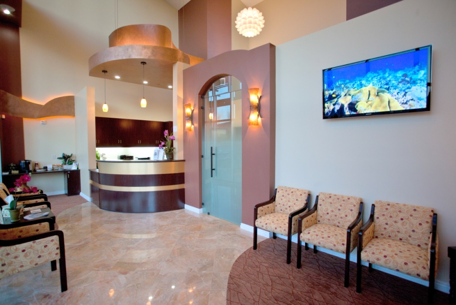 Dental Office Design by Unique Interior Designs - Dental Office Business Area